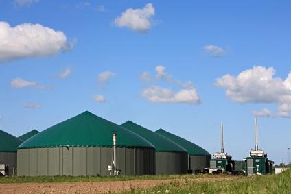 Biogasanlage - Bildquelle: Fotolia