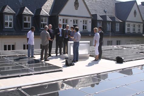 Photovoltaikanlage ESWE Wiesbaden