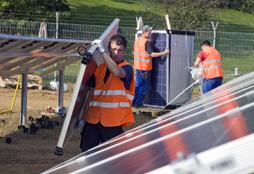 Solarpark Troisdorf - Foto: Agentur Profipress