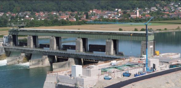 Wehrkraftwerk Oberrhein - Bildquelle: RADAG
