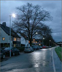 LED-Straßenbeleuchtung Fleher Deich - Bildquelle: swd