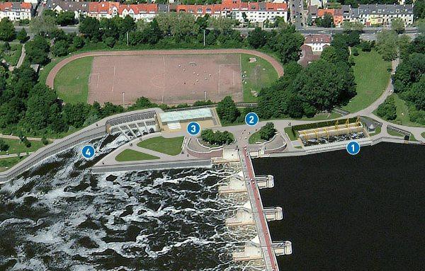 Weserkraftwerk Bremen - Bildquelle: Weserkraftwerk Bremen GmbH & Co. KG